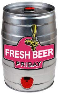 Fresh beer Friday - Royston mini keg