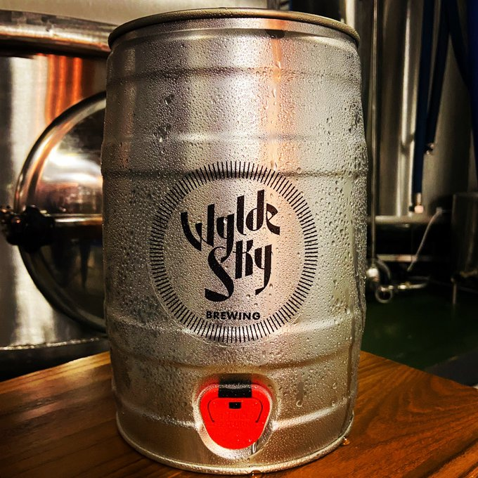 Wylde Sky Brewery Mini Keg beer delivery royston