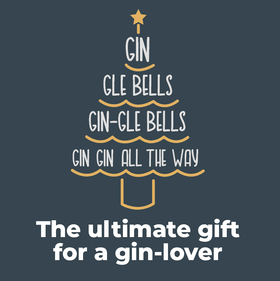 Ultimate Christmas gin tasting gift